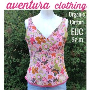 aventura clothing co.-Sz M-Blouse style Top-EUC